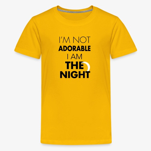 I'm not adorable - Kids' Premium T-Shirt