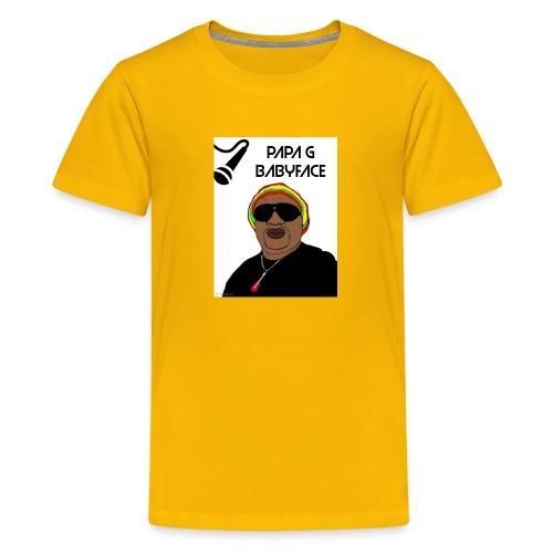 papa g - Kids' Premium T-Shirt