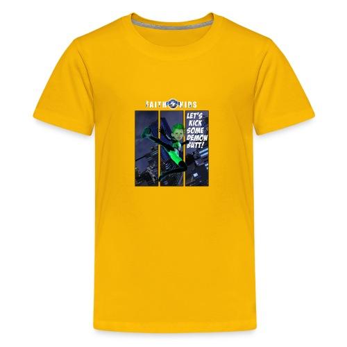 Let's Kick Some Demon Butt Kids T-Shirts - Kids' Premium T-Shirt