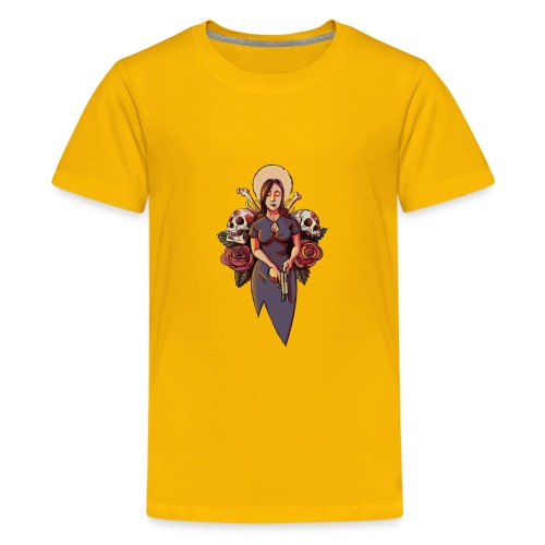Our Lady of Cold Shoulders - Kids' Premium T-Shirt