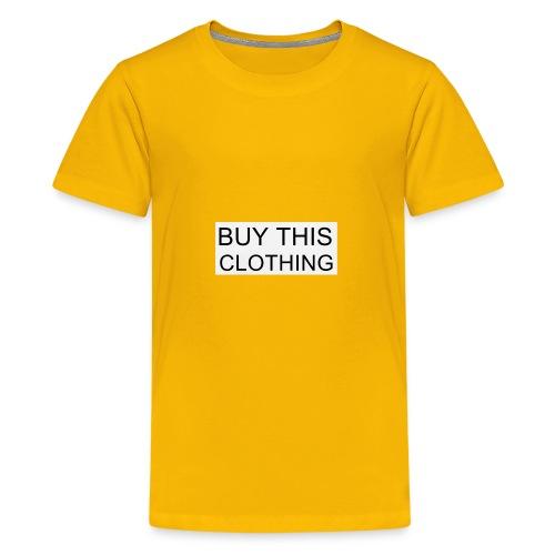 C0C50093 7DAA 490E 9698 721B6FD2E594 - Kids' Premium T-Shirt