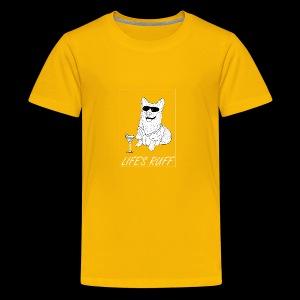 Life's Ruff Limited Edition Shirt - Kids' Premium T-Shirt