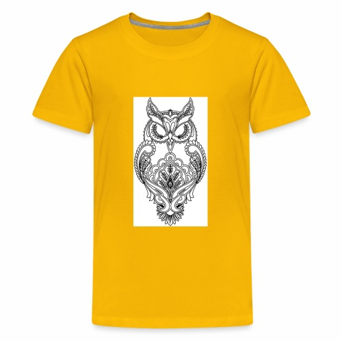 owls look - Kids' Premium T-Shirt