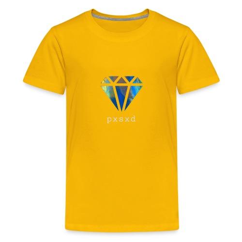 Poetic Savage Logo Diamond - Kids' Premium T-Shirt