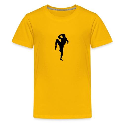 muay thai hoodie - Kids' Premium T-Shirt