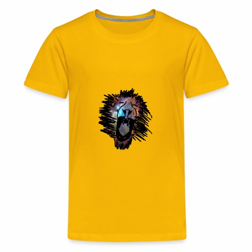 Galaxy Lion - Kids' Premium T-Shirt