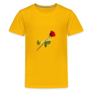 L3møn rose - Kids' Premium T-Shirt
