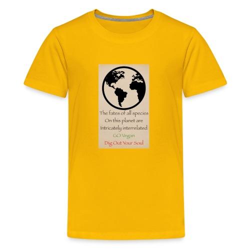 eco not ego - Kids' Premium T-Shirt
