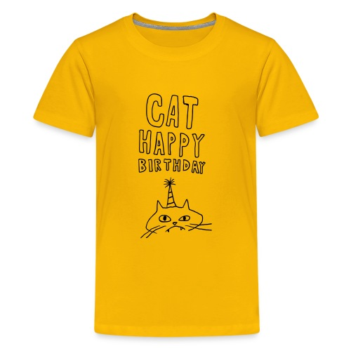 Cat Happy Birthday Collection - Kids' Premium T-Shirt