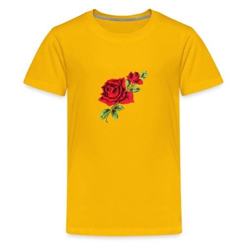 Rose and Bud - Kids' Premium T-Shirt