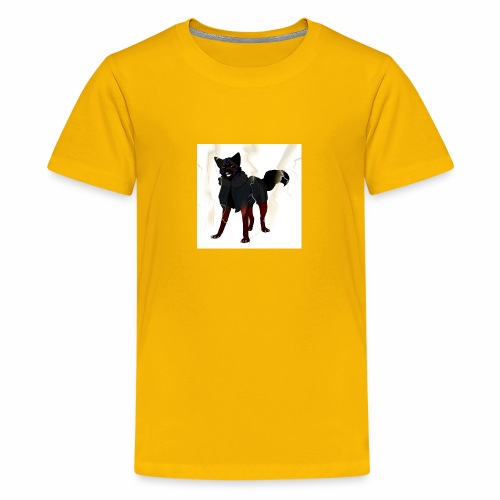 broken glass error dog - Kids' Premium T-Shirt