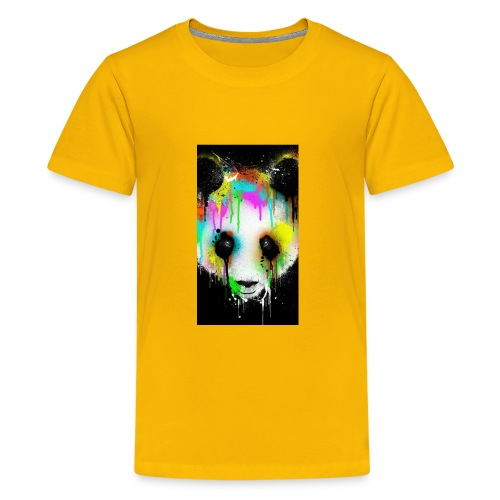 panda paint - Kids' Premium T-Shirt