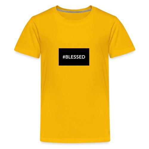 #blessed - Kids' Premium T-Shirt