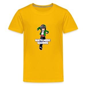 Math Merc Gaming - T-shirt premium pour ados
