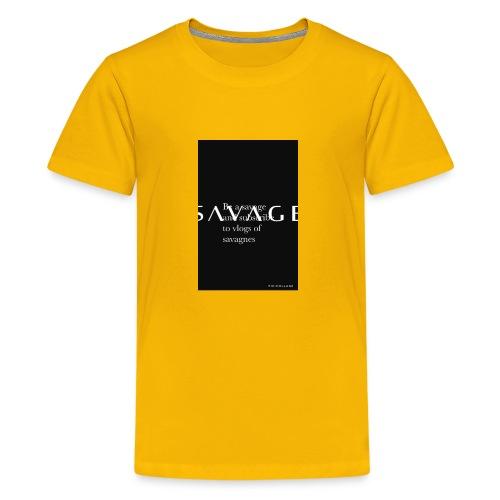 Subscribe to savage mide - Kids' Premium T-Shirt