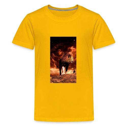 Lion 8777b6f7 3f7c 3f0f b84f 7dd7d3e9c75c - Kids' Premium T-Shirt