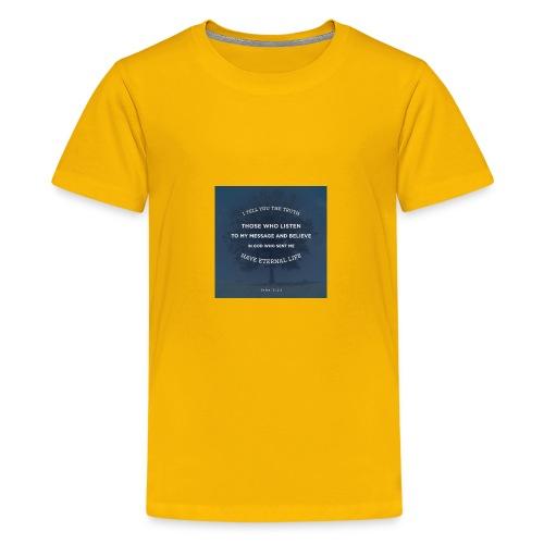 John 5:24 - Kids' Premium T-Shirt