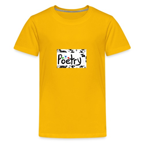 Getto Read Poetry - Kids' Premium T-Shirt