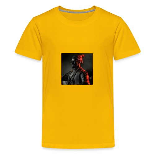 Shivaji Maharaj - 1 - Kids' Premium T-Shirt