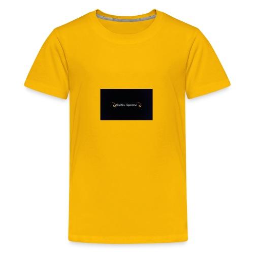 black and gold t shirt - Kids' Premium T-Shirt