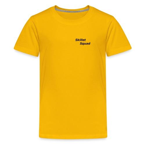 SkilletSquad Longsleve logo - Kids' Premium T-Shirt
