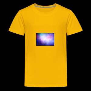 galaxy scene 1048 5105 - Kids' Premium T-Shirt