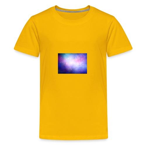 galaxy scene 1048 5105 - Kids' Premium T-Shirt