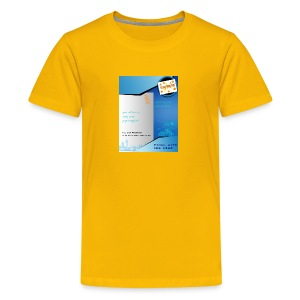 saiyan flyer - Kids' Premium T-Shirt