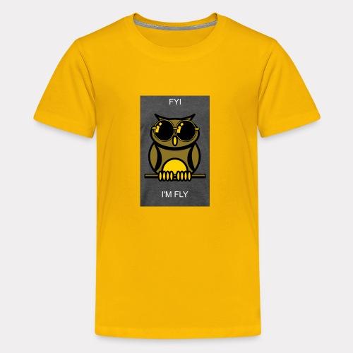 Fly Owl - Kids' Premium T-Shirt