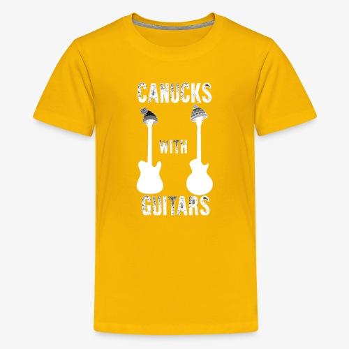 Canucks With Guitars - Kids' Premium T-Shirt