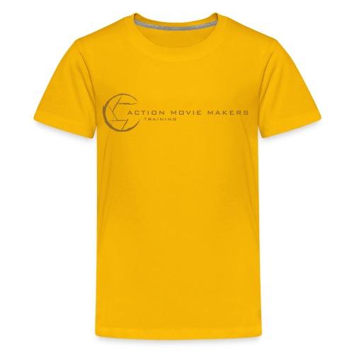 AMMT Logo Modern Look - Kids' Premium T-Shirt