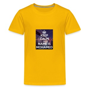 keep calm my name is mohamed 4 - Kids' Premium T-Shirt