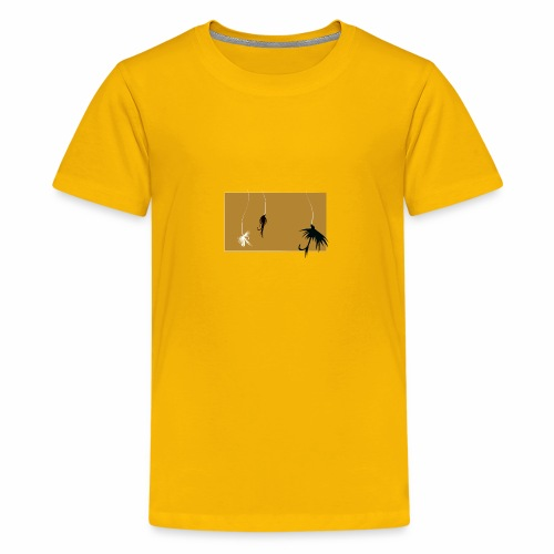Fishing Shirt Flies - Kids' Premium T-Shirt