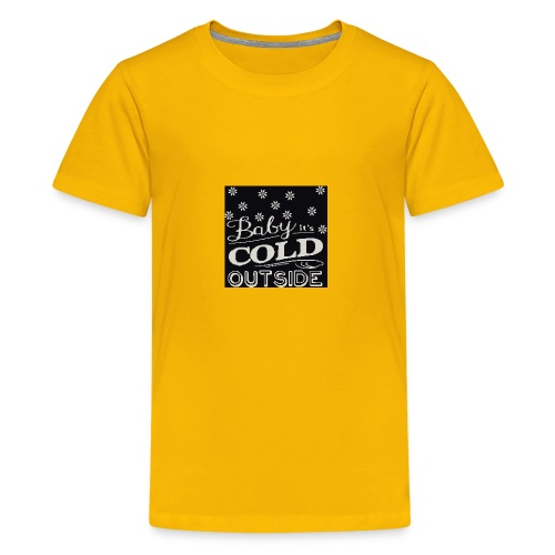 baby its cold outside 200 x 200 - Kids' Premium T-Shirt