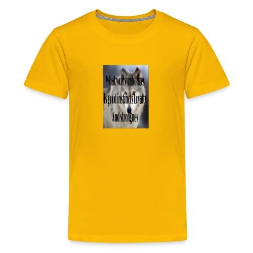 The meaning merch - Kids' Premium T-Shirt