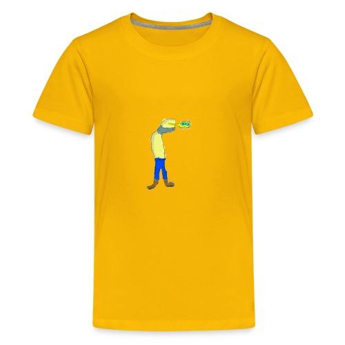 Singed sees something - Kids' Premium T-Shirt