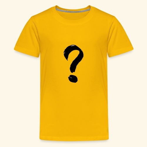 Question Mark T-shirt - Kids' Premium T-Shirt