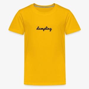 DUMPLING (BLACK) - Kids' Premium T-Shirt