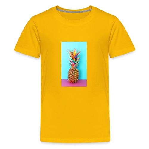 Colorful pineapple - Kids' Premium T-Shirt