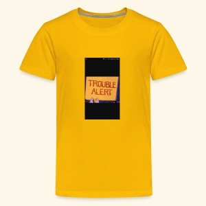 Trouble alert from troublemakers cool merches lean - Kids' Premium T-Shirt