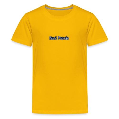 red panda words - Kids' Premium T-Shirt