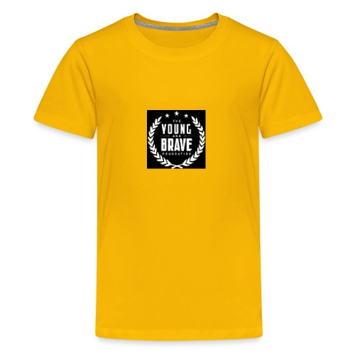 YOUNG AND BRAVE - Kids' Premium T-Shirt