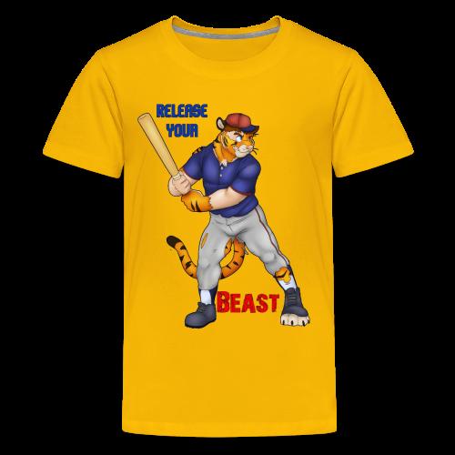 Release Your Beast - Kids' Premium T-Shirt