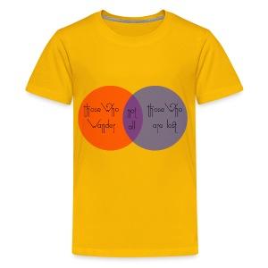 wander venn - Kids' Premium T-Shirt