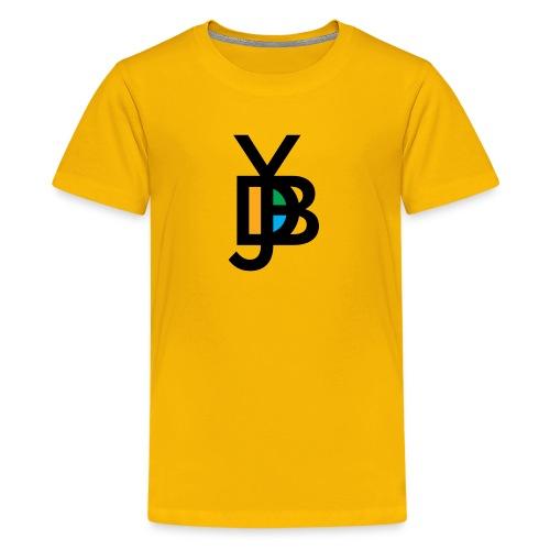 Jybd black with orange - Kids' Premium T-Shirt