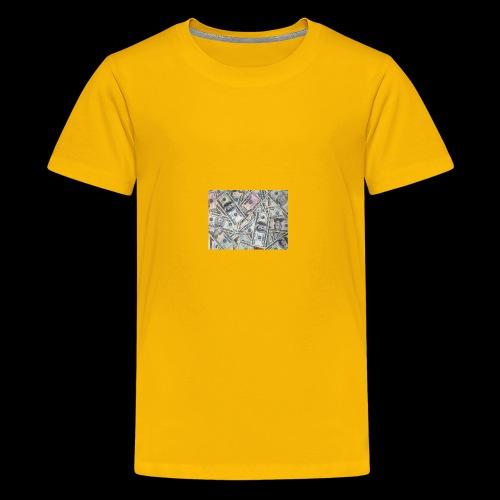 rich pepole all pepole - Kids' Premium T-Shirt