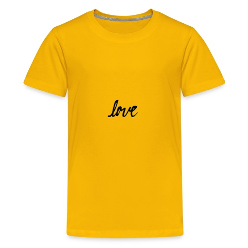 Love T-Shirt MEN - Kids' Premium T-Shirt