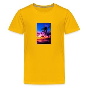 my honeymoon is going to be in Hawaii - Kids' Premium T-Shirt