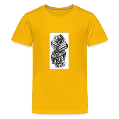 Gunz n Roses - Kids' Premium T-Shirt