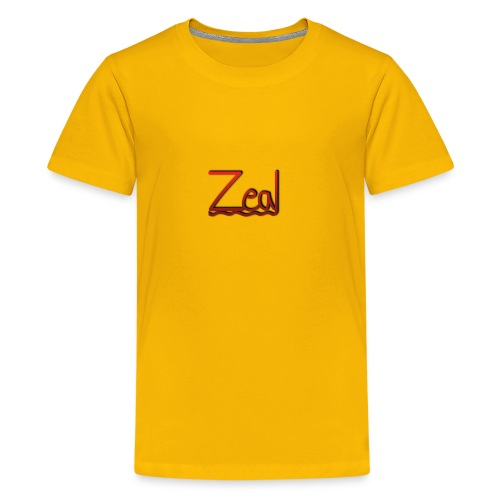Zeal Red Logo - Kids' Premium T-Shirt
